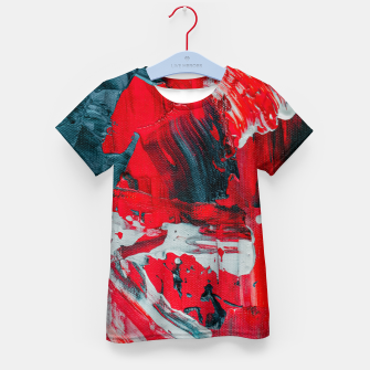 Thumbnail image of paint splatter Kid's t-shirt, Live Heroes