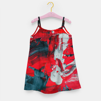 Miniatur paint splatter Girl's dress, Live Heroes