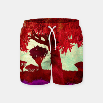 Thumbnail image of One grass Swim Shorts, Live Heroes
