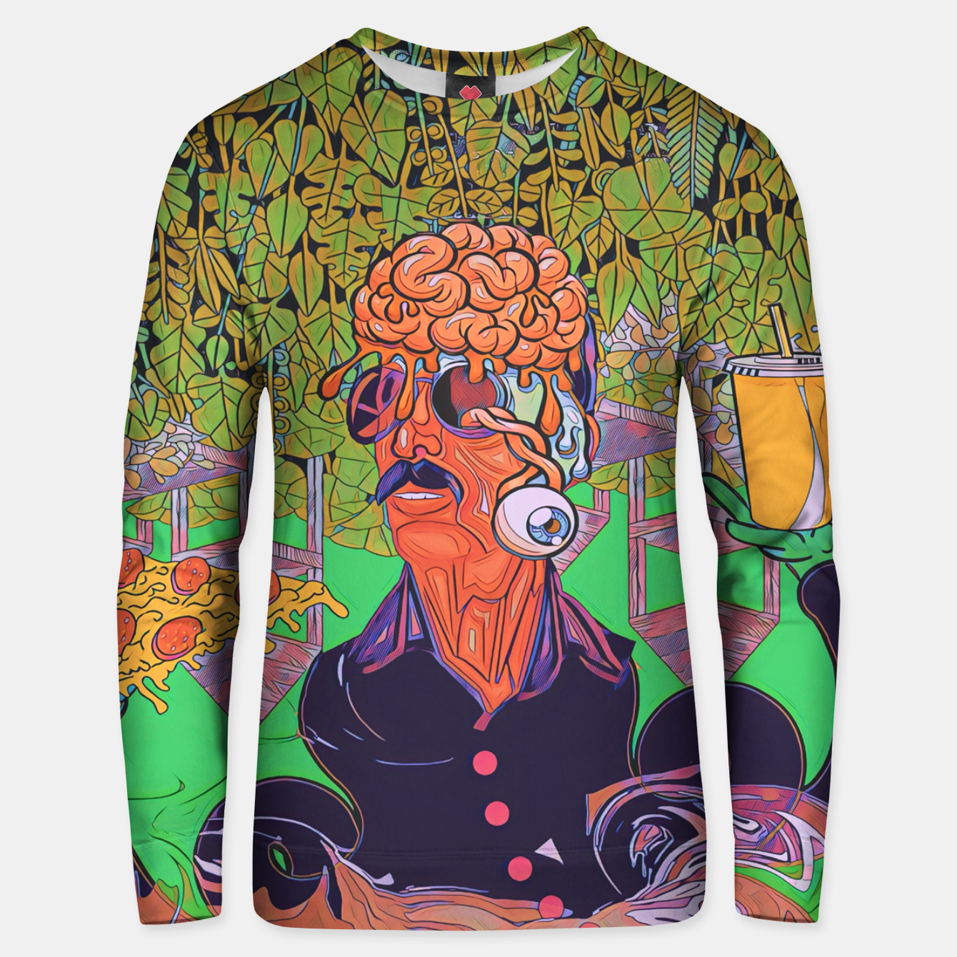 Image of Pizza or Soda Unisex sweater - Live Heroes