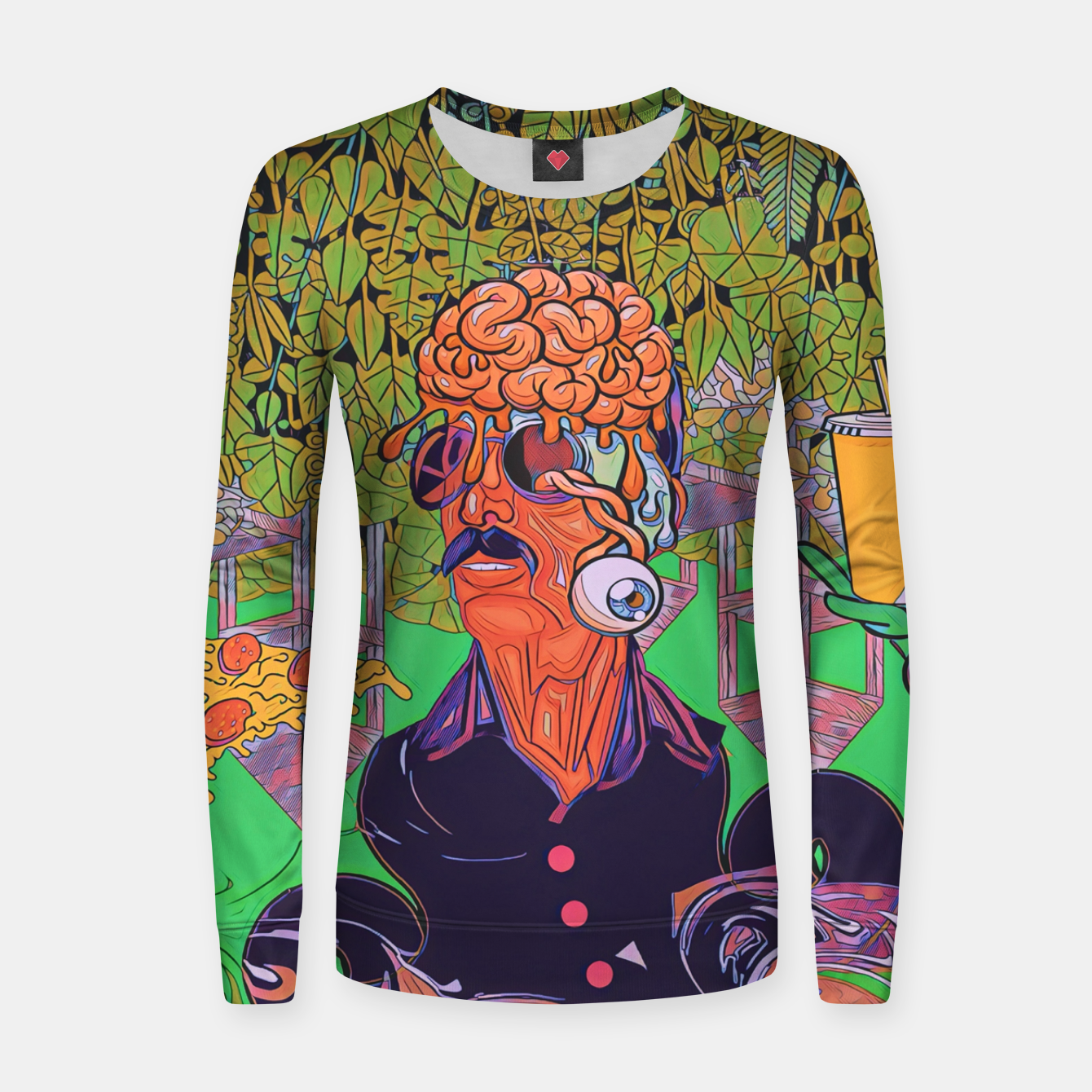 Image of Pizza or Soda Women sweater - Live Heroes