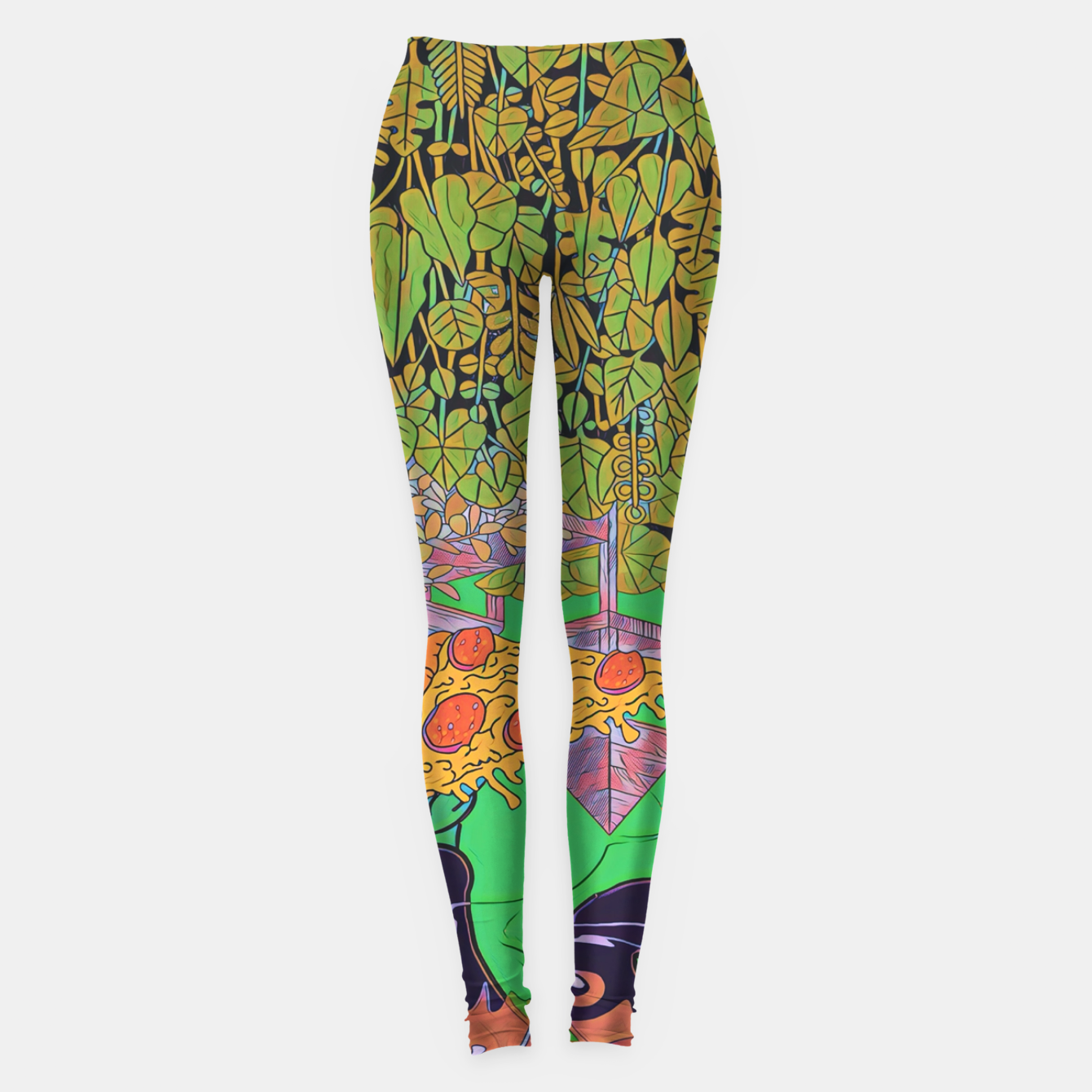 Image of Pizza or Soda Leggings - Live Heroes