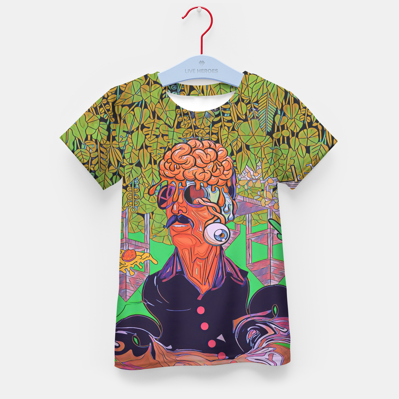 Image of Pizza or Soda Kid's t-shirt - Live Heroes