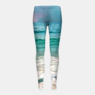 Thumbnail image of New Day II Girl's leggings, Live Heroes
