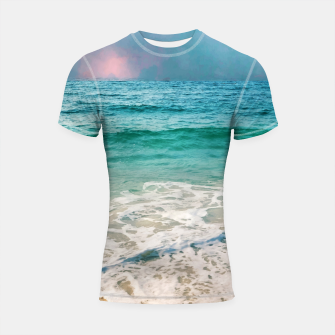 Thumbnail image of New Day II Shortsleeve rashguard, Live Heroes