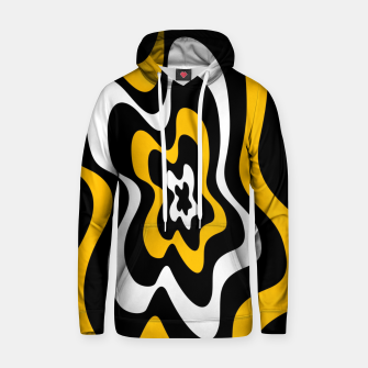 Miniature de image de Abstract pattern - orange, black and white. Hoodie, Live Heroes