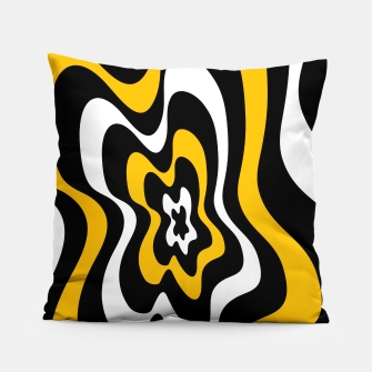 Miniature de image de Abstract pattern - orange, black and white. Pillow, Live Heroes