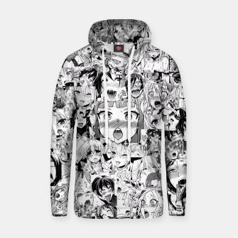 Thumbnail image of Ahegao classic Hoodie, Live Heroes