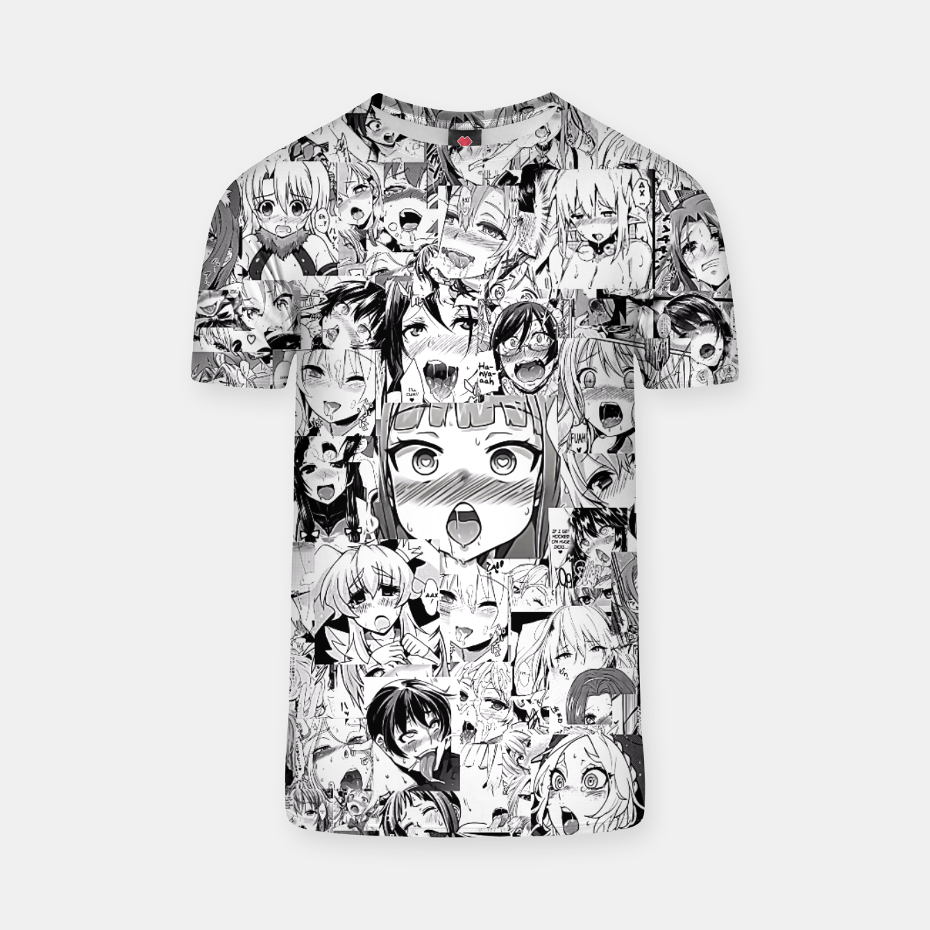 Image of Ahegao classic T-shirt - Live Heroes