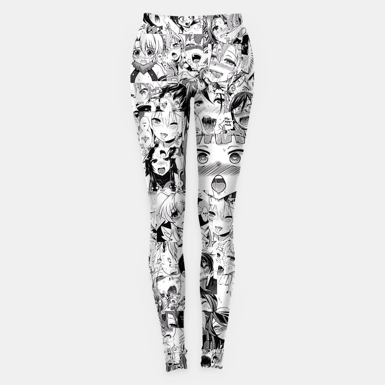 Image of Ahegao classic Leggings - Live Heroes