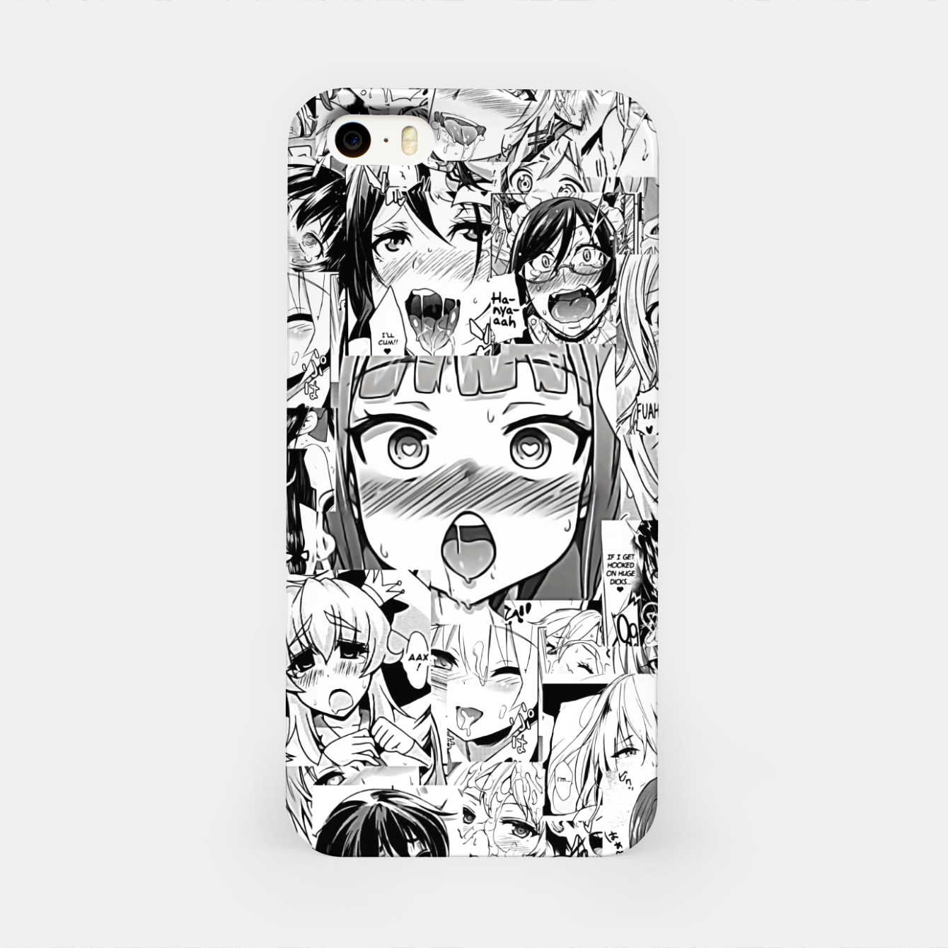 Image of Ahegao classic iPhone Case - Live Heroes