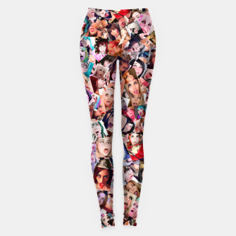 Miniature de image de Real 3D Ahegao cosplay Leggings, Live Heroes