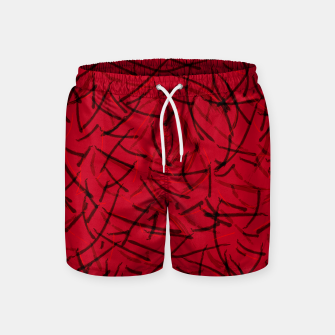 Thumbnail image of Fiery Void Ashes Dance Swim Shorts, Live Heroes
