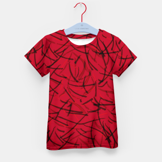 Thumbnail image of Fiery Void Ashes Dance Kid's t-shirt, Live Heroes