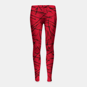 Thumbnail image of Fiery Void Ashes Dance Girl's leggings, Live Heroes