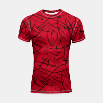 Thumbnail image of Fiery Void Ashes Dance Shortsleeve rashguard, Live Heroes