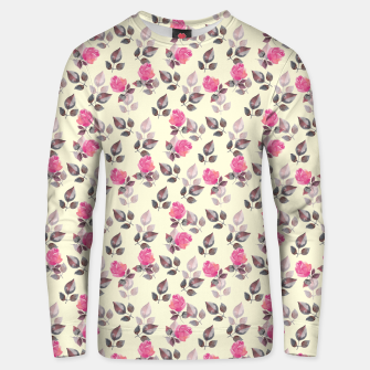 Miniatur Pattern of roses Unisex sweater, Live Heroes
