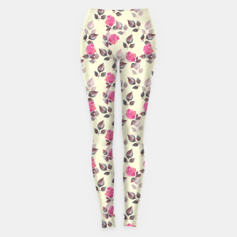 Thumbnail image of Pattern of roses Leggings, Live Heroes