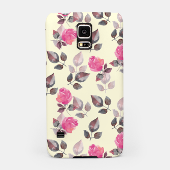 Miniaturka Pattern of roses Samsung Case, Live Heroes