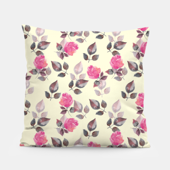 Miniature de image de Pattern of roses Pillow, Live Heroes