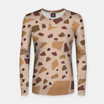 Thumbnail image of Jesmonite Terrazzo Being  Sudadera para mujeres, Live Heroes