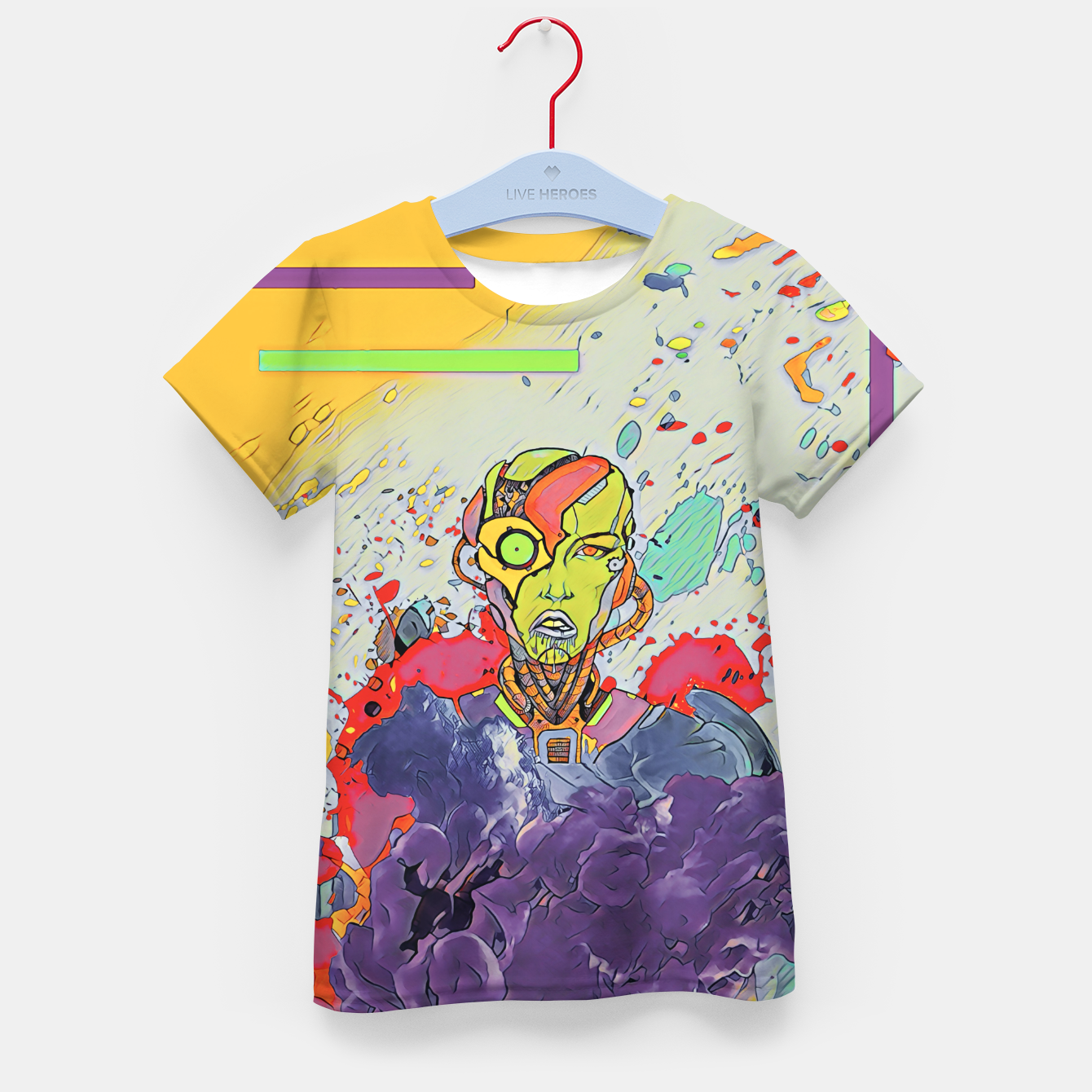 Image of Future Kid's t-shirt - Live Heroes