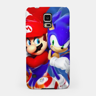 Thumbnail image of Mario vs Sonic Samsung Case, Live Heroes