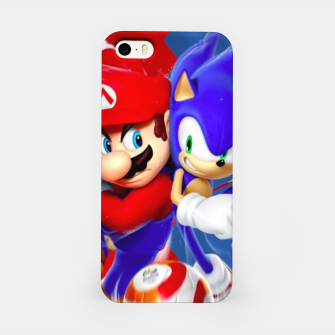 Miniaturka Mario vs Sonic iPhone Case, Live Heroes