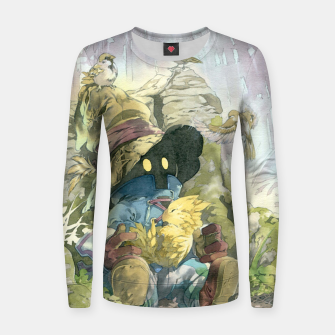Thumbnail image of Vivi Rain Women sweater, Live Heroes