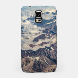 Andes Mountains Aerial View, Chile Samsung Case obraz miniatury