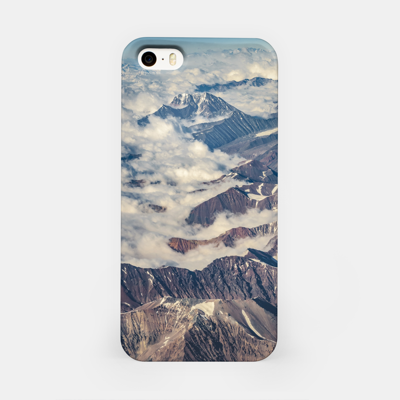 Zdjęcie Andes Mountains Aerial View, Chile iPhone Case - Live Heroes