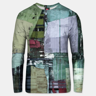 Thumbnail image of Broken building Unisex sweater, Live Heroes