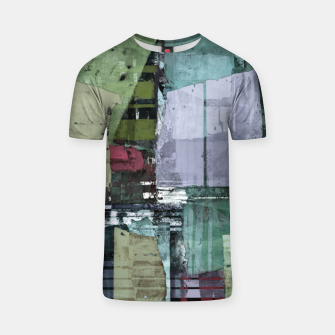 Thumbnail image of Broken building T-shirt, Live Heroes