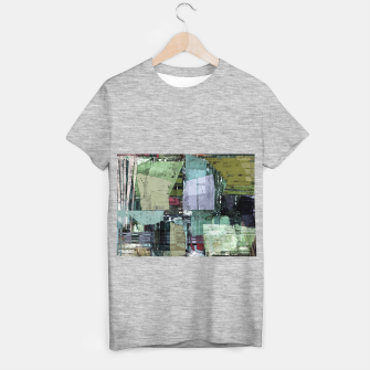 Thumbnail image of Broken building T-shirt regular, Live Heroes