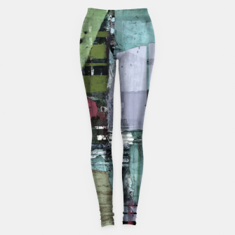 Thumbnail image of Broken building Leggings, Live Heroes
