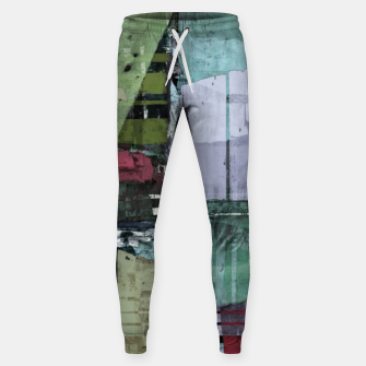 Thumbnail image of Broken building Sweatpants, Live Heroes
