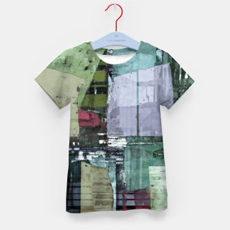 Thumbnail image of Broken building Kid's t-shirt, Live Heroes