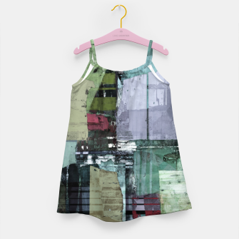 Broken building Girl's dress thumbnail image