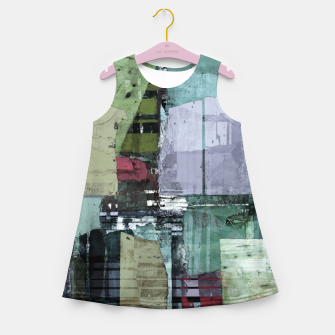 Broken building Girl's summer dress thumbnail image