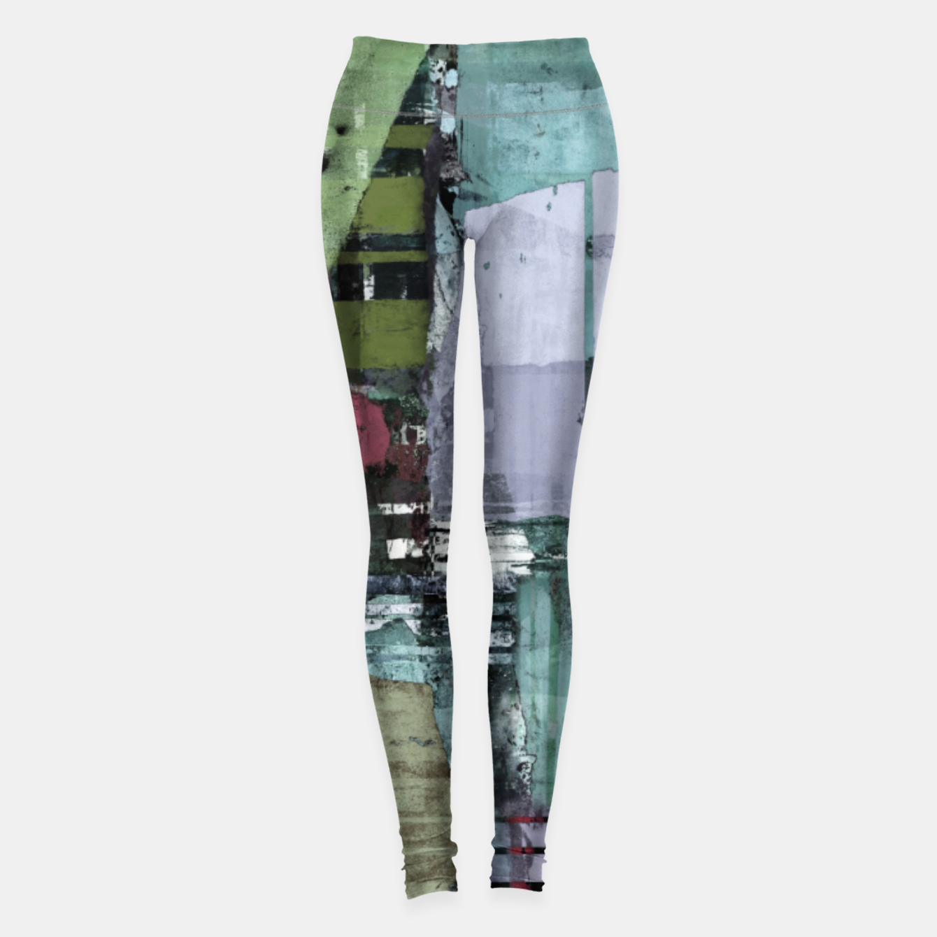Image of Broken building Leggings - Live Heroes