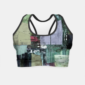 Thumbnail image of Broken building Crop Top, Live Heroes