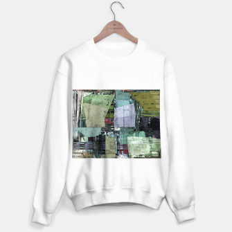 Thumbnail image of Broken building Sweater regular, Live Heroes