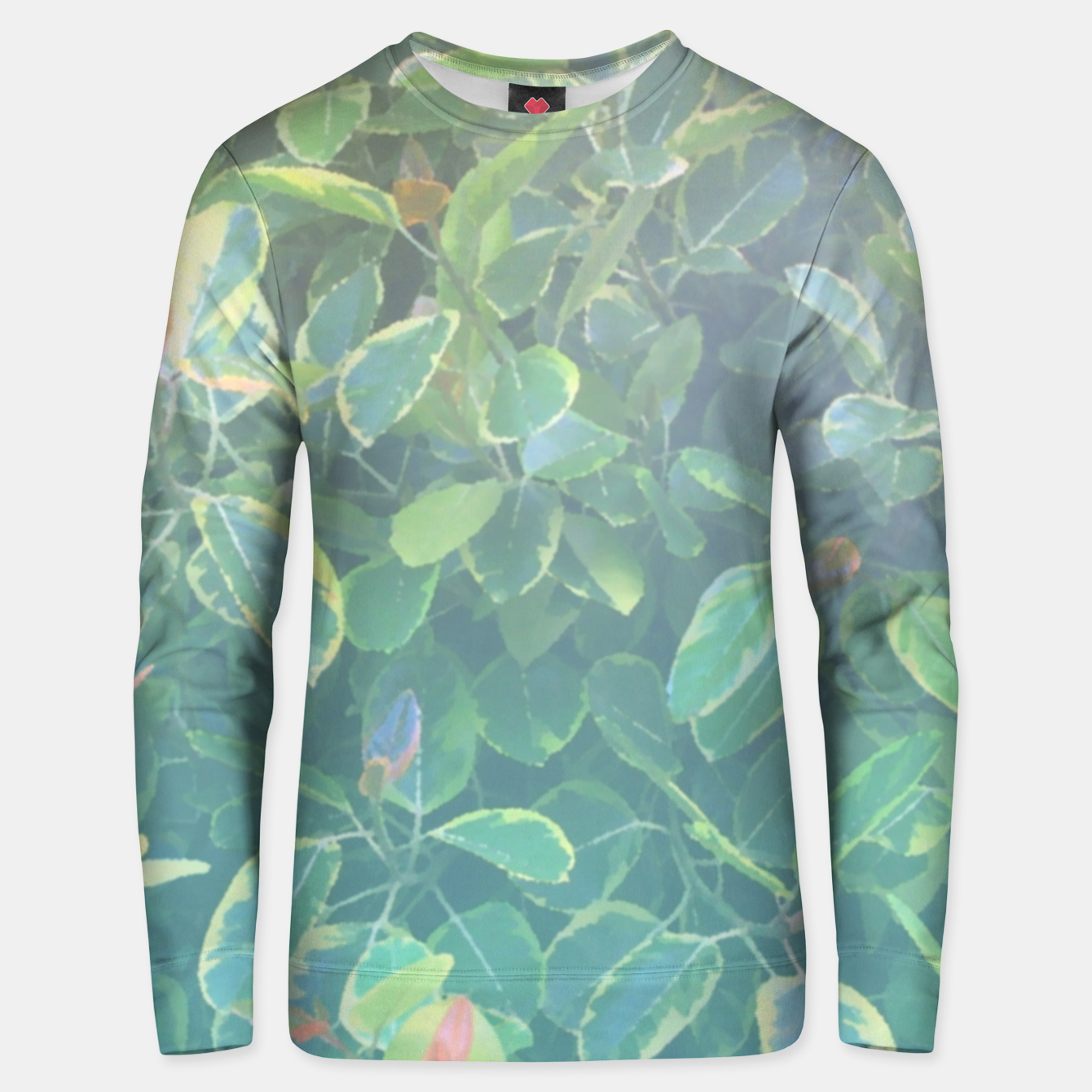 Image of foliage_ficus benghalensis variegated Unisex sweater - Live Heroes
