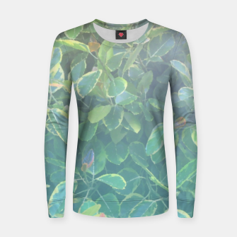 Thumbnail image of foliage_ficus benghalensis variegated Women sweater, Live Heroes