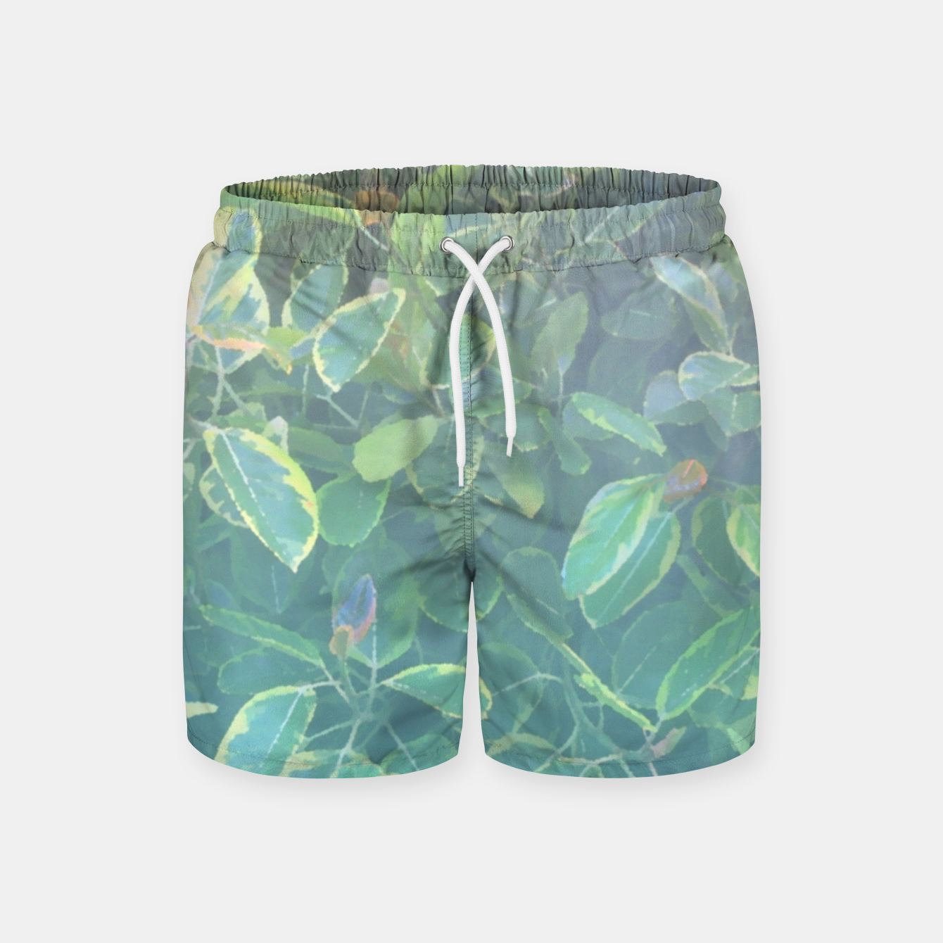 Image of foliage_ficus benghalensis variegated Swim Shorts - Live Heroes