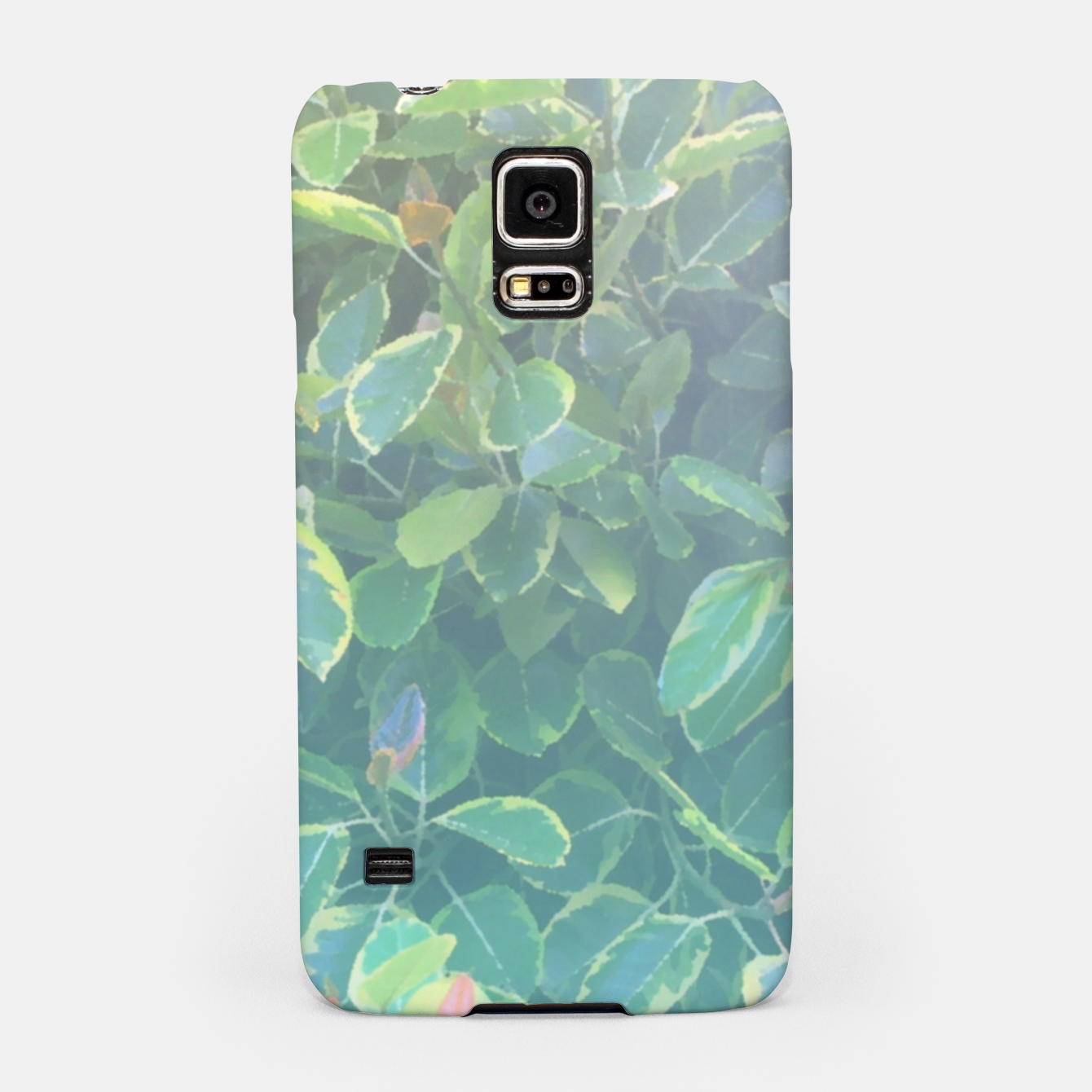 Image of foliage_ficus benghalensis variegated Samsung Case - Live Heroes