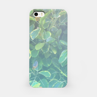 Thumbnail image of foliage_ficus benghalensis variegated iPhone Case, Live Heroes