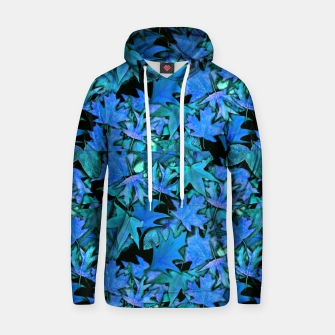Miniature de image de Blue Fall Leaves Hoodie, Live Heroes