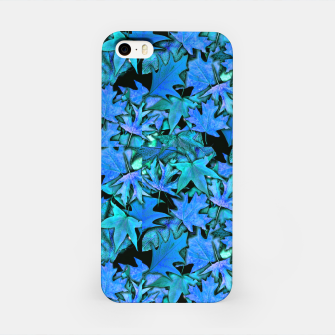 Miniaturka Blue Fall Leaves iPhone Case, Live Heroes