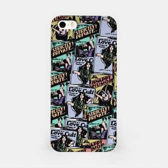 Thumbnail image of comic books pattern iPhone Case, Live Heroes